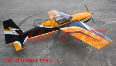 Goldwing SLICK 540 120  cc Ap. Alare  2670 mm Oracover carbon