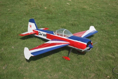 Goldwing YAK 55 70E Ap. Alare 1520 mm Oracover carbon
