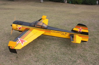 Goldwing YAK 55 70E Ap. Alare 1520 mm Oracover carbon copia