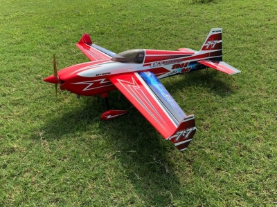 Skywing EDGE 540 balsa+carbonio ap. alare 1879 mm A ROSSO