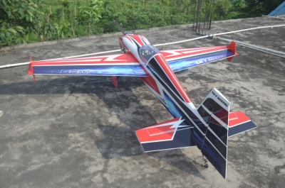 Skywing EDGE 540 balsa+carbonio ap. alare 2667 mm A ROSSO