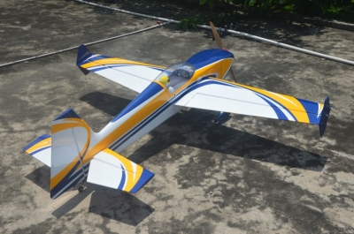 Skywing EXTRA 300 balsa+carbonio ap. alare 1854 mm B GIALLO
