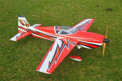 Skywing EXTRA300 balsa+carbonio ap. alare 1854 mm A ROSSO